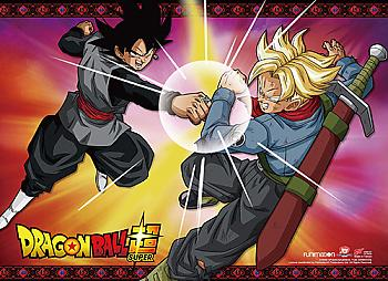 Dragon Ball Super Wall Scroll - Goku Black Vs. Future Trunks [LONG]
