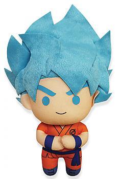 Dragon Ball Super 6.5'' Plush - Saiyan Blue Goku  (Battle of the Gods)