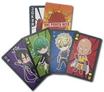One-Punch Man Playing Cards - SD Characters