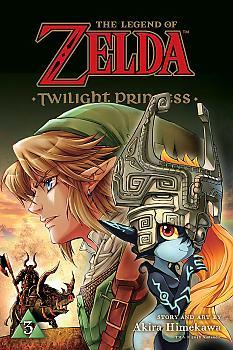 Zelda Twilight Princess Manga Vol. 3
