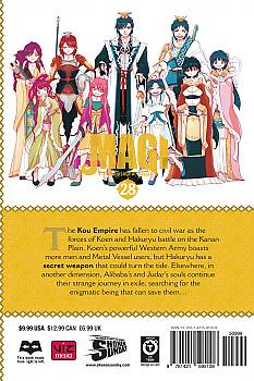 Magi: The Labyrinth of Magic Manga Vol. 28