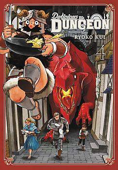 Delicious in Dungeon Manga Vol. 4