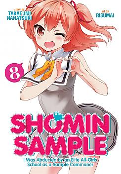 Shomin Sample: I Was Abducted by an Elite All-Girls School as a Sample Commoner Manga Vol. 8