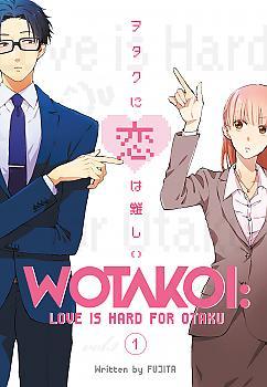 Wotakoi Manga Vol. 1 - Love is Hard for Otaku