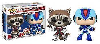 Marvel Vs. Capcom Infinite POP! Vinyl Figure - Rocket Vs Mega Man X (2-Pack)