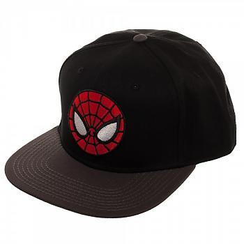Spiderman Cap - Ultimate Spiderman Black Snapback
