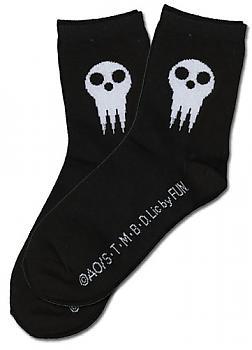 Soul Eater Socks - Shinigami Skull