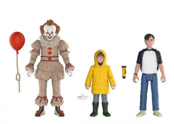 Stephen King's It Action Figure - Pennywise, Georgie and Bill (Set of 3)