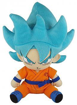 Dragon Ball Super Plush - Super Saiyan Blue Goku Sitting (Ressurection of F)