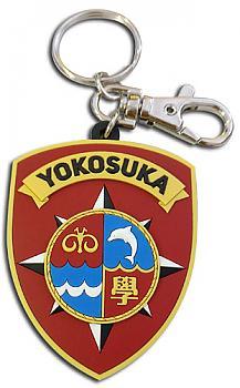 High School Fleet Key Chain - Yokosuka Emblem