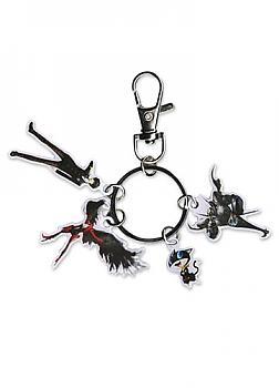 Person 5 Key Chain - Protagonist, Arsene, Morgana & Zorro Metal