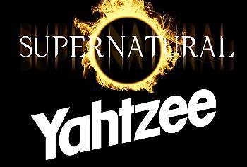 Supernatural Board Game - Yahtzee Collector's Edition