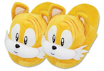 Sonic The Hedgehog Slippers - Tails Head