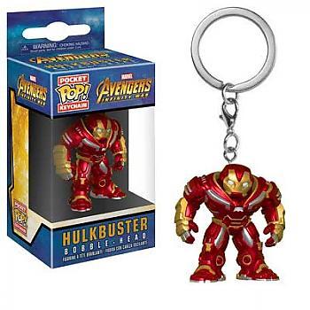 Avengers Infinity War Pocket POP! Key Chain - Hulkbuster