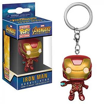 Avengers Infinity War Pocket POP! Key Chain - Iron Man