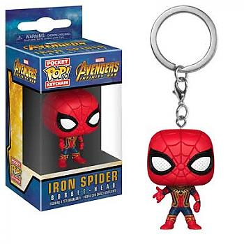 Avengers Infinity War Pocket POP! Key Chain - Iron Spider