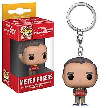 Mister Rogers Neighborhood Pocket POP! Key Chain - Mister Rogers
