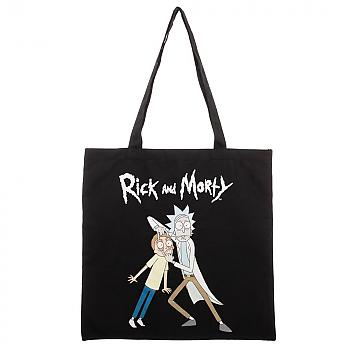 Rick and Morty Tote Bag - Open Your Eyes