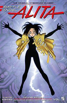 Battle Angel Alita Deluxe Edition Manga Vol. 5