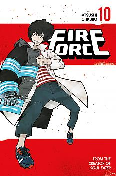 Fire Force Manga Vol. 10