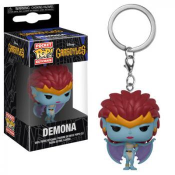 Gargoyles Pocket POP! Key Chain - Demona (Disney)
