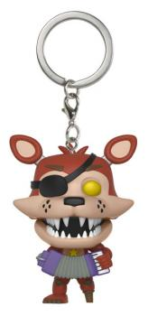 Five Nights at Freddy's Pocket POP! Key Chain - Rockstar Foxy