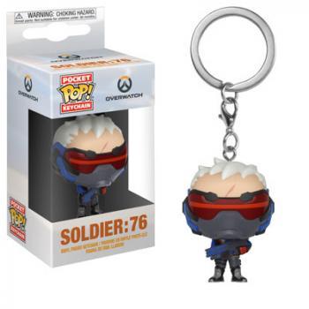 Overwatch Pocket POP! Key Chain - Soldier 76