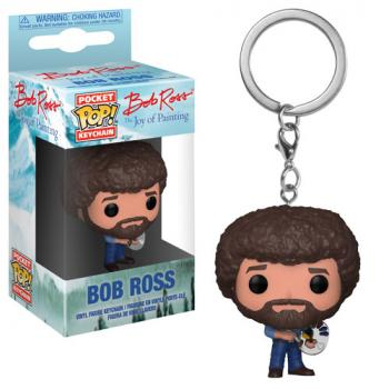 Pop! Television Pocket POP! Key Chain - Bob Ross
