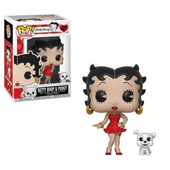 Betty Boop POP! Vinyl Figure - Betty Boop w/ Pudgy
