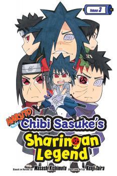 Naruto - Chibi Sasuke's Sharingan Legend Manga Vol. 3